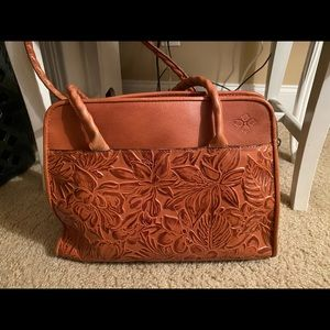 Patricia Nash topped leather purse
